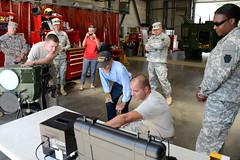 Harold Billow tours FTIG 19_DSC3562 (PANationalGuard) Tags: veterans vet vets veteran visiting visit wwii ww2 ftig fig fortindiantowngap ftindiantowngap military
