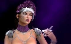 The holder of my heart has the key (Alexa M.) Tags: roses people women purple fantasy secondlife una crown collar aisling romp essences thedressingroom elua proclivity theepiphany thesecretaffair we3roleplay blackbantam