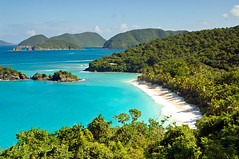 Secluded tropical beach (bruno_colombi1) Tags: ocean travel sea summer vacation holiday beach nature landscape island coast seaside getaway tropical caribbean idyllic virginislands secluded trunkbay