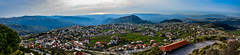 Ehden Panoramic, Lebanon (Paul Saad (( ON/OFF ))) Tags: ehden lebanon hdr nikon sky pano panoramic mountain village town zgharta