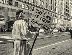 end_times (gerhil) Tags: reportage street protest people message politics rnc2016 outdoor monochrome tint random gathering freespeech niksilverefexpro2 summer july2016 1001nights 1001nightsmagiccity