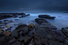 Burwood Beach Long Exposure (Paul Hollins) Tags: australia aus merewether newsouthwales seascape longexposure nikond750 nikon1635mmf4 rocks ocean burwoodbeach