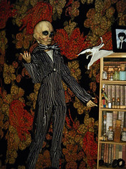 Rot Skellington (steamwitch) Tags: halloween bjd nightmarebeforechristmas tnbc halloweenbjd dollleavesmorton