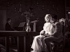 The glowing bride (mulletboydavies) Tags: wedding bride blackandwhite nikon d750 50mm naturallight church