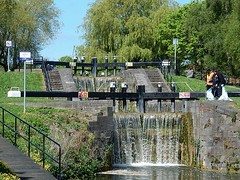 Significant Drop (mikecogh) Tags: dublin flow waterfall lock drop change levels royalcanal