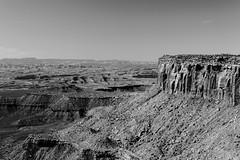 Canyonlands National park (Corvus tristis) Tags: blackandwhite nps nationalparks canyonlands canyonlandsnationalpark landscape