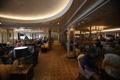 The New Carinthia Lounge (Procyon Systems) Tags: queenmary2 cunard transatlantic slowtravel queenmary2remastered