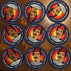 TSBC patches are in! (Target Salad) Tags: tariksalehbikeclub tsbc patches ridebikestrynottobeanass bikeclub