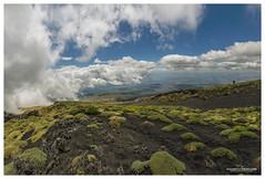 Cloudy horizon (Vulcanian) Tags: etna volcano sicily