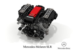 Mercedes-Mclaren SLR Stirling Moss Edition + UCS 5.4L V8 Supercharged Engine (lego911) Tags: mercedes mercedesbenz benz mclaren slr stirling moss edition roadster v8 supercharged supercharger racer auto car moc model miniland lego lego911 ldd render cad povray lugnuts challenge 106 exclusiveedition exclusive limited special germany german carbon fibre fiber sports sportscar engine 54 ucs motor foitsop