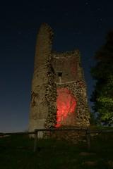 Chteau de montfalcon (labeanch) Tags: nuit night longueexposition etoiles stars sony chteau ruine lightpainting isre montfalcon