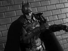 Batman Arkham Knight (black and white) (metaldriver89) Tags: new 2 blackandwhite art dark movie toy toys actionfigure book dc comic action nolan bruce wayne bat version actionfigures classics figure batman knight cape dccomics cloth custom gotham universe signal unlimited figures legacy mattel articulated darkknight rises trilogy 52 batsignal brucewayne the gothamcity arkham cowl thedarkknight toyphotography matteltoys new52 acba dcuc dccollectibles customcape articulatedcomicbookart arkhamcity thedarkknightrises batmanunlimited arkhamknight