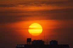 Colorful sunset  (Alpha 2008) Tags:              japan hokkaido sapporo   sunset sun clouds sky landscape nikon 200500mm