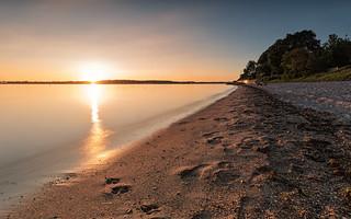Baltic summer evening