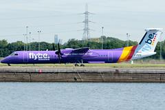 Flybe - De Havilland Canada DHC-8-402Q Dash 8 - G-PRPB  London City Airport (paulstevenchalmers) Tags: londoncity london lcy airport