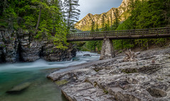 Sacred Dancing Cascade (Paul Domsten) Tags: glaciernationalpark sacreddancingcascade goingtothesunroad montana outdoor landscape water waterfall cascade creek beauty scenic pentax