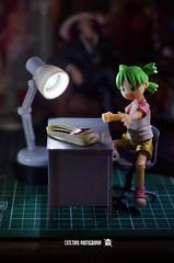 Yotsuba2 (ArchLancer) Tags: yotsuba revoltech animecharacter figure toy nikond7000 workstation cutetoysphotography