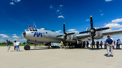 Fifi (contemplative imaging) Tags: 2016 20160716 atx1228prodx airpowerhistorytour auroramunicipalairport cimisc20160716d7000 commemorativeairforce tokinaaf1228mmf4 aircorps airforce airpower aircraft airplane airplanes airport america aviation bw b29 boeing bomber contemplativeimaging cpl d7000 day digital dslr fifi flightline historic historical hot il ill illinois july kanecounty midwest midwestern military nikon nx529b partlysunny photo photography preservation ronzack saturday sugargrove summer superfortress tok1228f4dx usa war warbird warbirds weapon weapons worldwarii ww2 wwii