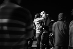Kiss (Hutchography.com) Tags: toronto night male harbourfront kiss street couple 22 kissing female fireworks