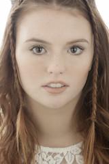 High key (mbustamanteph) Tags: portrait retrato model studio canon girl redhair
