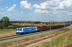 Locomotive 46 026 (Krali Mirko) Tags: bdz bdzcargo bdztp freight cargo train electric electroputere yambol bulgaria 46 46026 026 transport