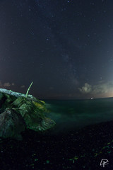 the first stars (REDda_ge) Tags: notturna nikon d7100 stelle star starphotography night nightphotography samyang fisheye arenzano liguria genova genoa lungheesposizioni italia italy