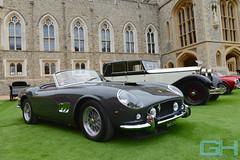 Ferrari 250 GT SWB California Spyder 1961 (Gary Harman) Tags: ferrari 250 gt swb california spyder 1961 windsor castle concours elegance 2016 cars racing art gary harman garyharman gh gh4 gh5 gh6