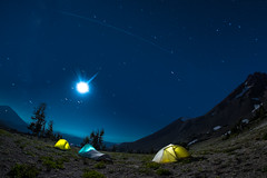 ISS Over Broken Top (RWShea Photography) Tags: brokentop campsite perseids night stars