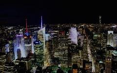 New York by night! (I Nair) Tags: newyork nightview empirestatebuilding 86thfloorobservationdeck