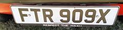 1981 AUSTIN MORRIS MAXI 1750 HL SERIES 2 1748cc FTR909X (Midlands Vehicle Photographer.) Tags: 1981 austin morris maxi 1750 hl series 2 1748cc ftr909x respect the