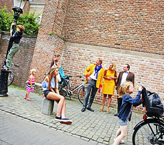 Parades Go By... (kirstiecat) Tags: strangers kids children parade utrecht netherlands dutch street streetphotography