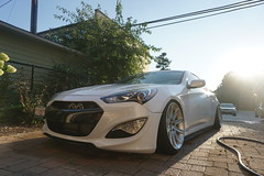 (Dustin Doege) Tags: hyundai genesiscoupe low stance bmw