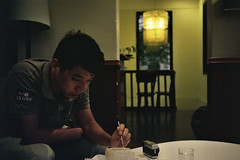 Icecream moments (InSoManyWords) Tags: film 35mm fujisuperia200 rollei35 hanoi vietnam fannys