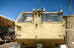 bridging equipment (maskirovka77) Tags: israeldefenseforces idf museum idfmuseum tanks m48 outdoors hdr armoredcar artillery antiaircraft armoredpersonnelcarrier bridgingequipment