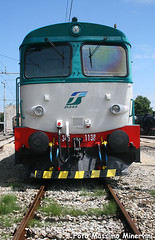 D345.1138 TI (Massimo Minervini) Tags: d345 d3451138 d345xmpr locomotorediesel diesel fs ti porteaperte rimini rivieraromagnola romagna mostra ferrovia treno trenitalia canon400d train rail