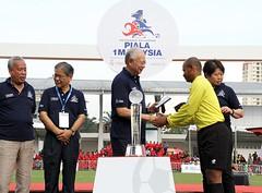 Perlawanan Akhir Kejohanan Bola Sepak Piala 1Malaysia. (Najib Razak) Tags: bola akhir sepak piala kejohanan perlawanan najibrazak 1malaysia
