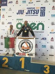 Cleyton Bastos Campeón del Open de Roma Italia 11-04-2015 Team Jucao Spain euskadi