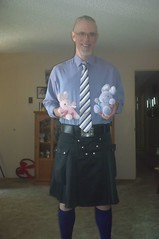 Celebrating Easter (KiltManinSoCal) Tags: gay kilt