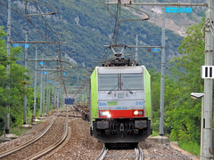 E486-510 (Simone Menegari) Tags: train foto merci traction bls stazione treno fs brennero lavoro elettrico ferrovia locomotiva locomotore e486 dolc