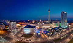 Berlin Alexanderplatz Skyline (Marcus Klepper - Berliner1017) Tags: street city shadow sky panorama building berlin history skyline architecture modern night clouds germany deutschland lights abend licht nikon europe nacht sale platz capital stock himmel tram bahnhof landmark architektur fernsehturm bluehour dmmerung nikkor bauwerk mitte schatten dri hdr wollen nachtaufnahme d800 kaufen geschichte verkauf langzeitbelichtung historisch longtimeexposure blauestunde sehenswrdigkeiten statt bezirk strase stadtlandschaft 1424mm marcusklepper