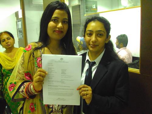 Counselor handling spouse dependent visa for Australia to Ranjana
