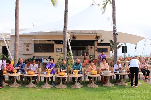 Songkran festival celebrated 2015