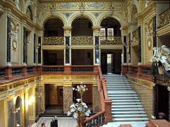 "Lviv_Opera_House_entrance_hall • <a style=""font-size:0.8em;"" href=""http://www.flickr.com/photos/75768291@N04/17167108421/"" target=""_blank"">View on Flickr</a>"