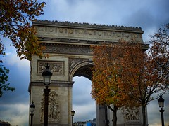 Edge of the Arc (Jim Nix / Nomadic Pursuits) Tags: travel paris france architecture europe arch olympus arcdetriomphe omd em1 cityoflight mirrorless nomadicpursuits