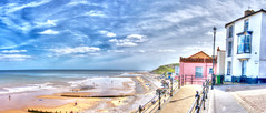 124/365 | Cromer | East Beach (rosberond) Tags: sea panorama beach pano norfolk shore hdr cromer eastbeach lookingeast project365 canonefs1785mmf456isusm 124365 jettystreet jettycliff 365for2015 4may2015