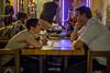 I'm Listening (micheltheriault) Tags: boyfriend table restaurant girlfriend listening talking doha quatar
