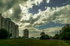 after the rain (aivn001) Tags: sky urban cloud cityscape sofia dramaticsky lyulin