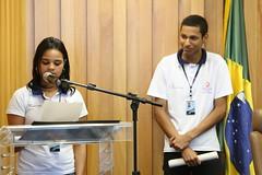 Programa Adolescente Aprendiz conclui atividades da primeira turma (TST_Oficial) Tags: adolescente tst programa aprendiz inclusãosocial justiçadotrabalho adolescenteaprendiz leliobentes
