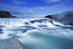 Gullfoss (metal-pics.de) Tags: longexposure water landscape island waterfall iceland reisen long exposure wasserfall landschaft gullfoss
