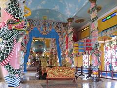 Het oog van god (MTTAdventures) Tags: temple cao dai oog
